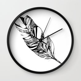 Feather - Lucidity Wall Clock