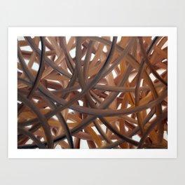 Lobby - Oil Art Print