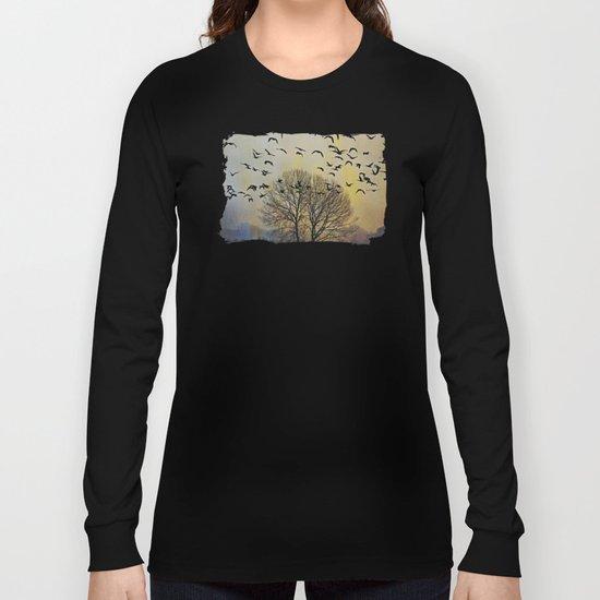 Bird Watching  - JUSTART © Long Sleeve T-shirt