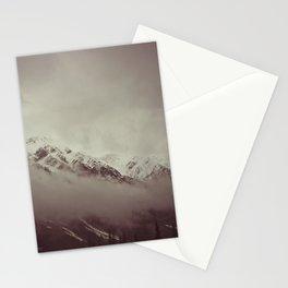 mt. lawson, kananaskis country, alberta Stationery Cards