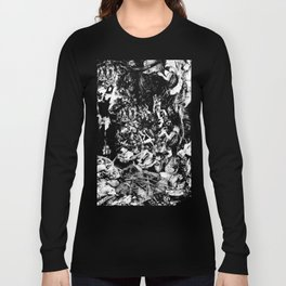 Smoldering in the Blackest Caverns Long Sleeve T-shirt