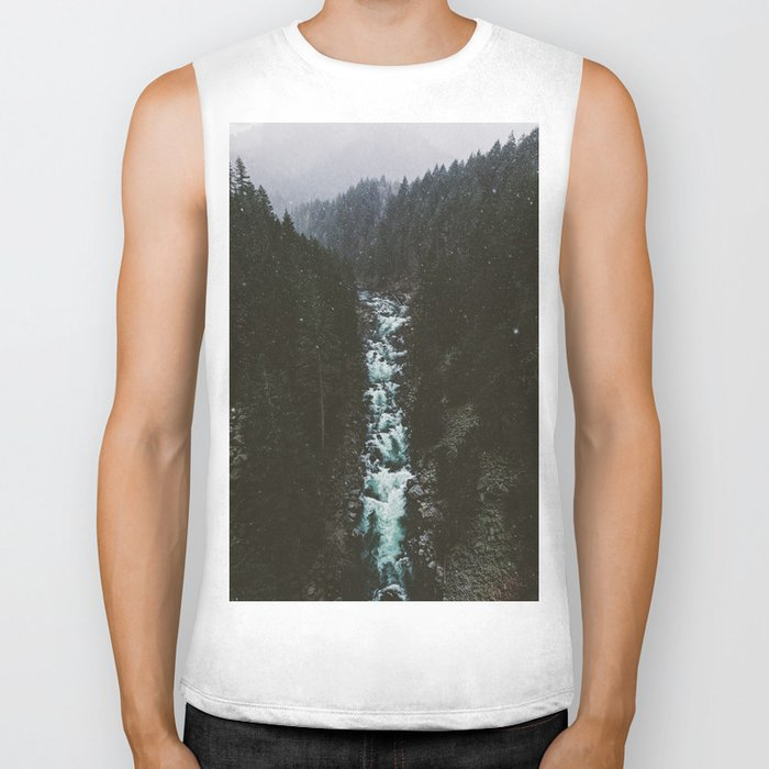 Washington Winter Wonderland Biker Tank