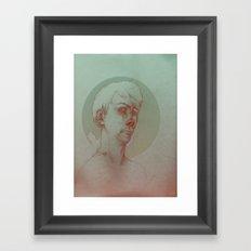Paranoid Schizophrenia Framed Art Print