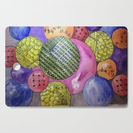 Zentangle Bubbles Cutting Board