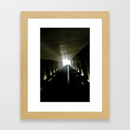 Ligth Games II Framed Art Print