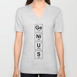 Genius Unisex V-Neck
