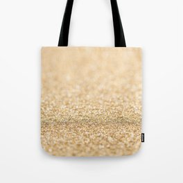 Beautiful champagne gold glitter sparkles Tote Bag