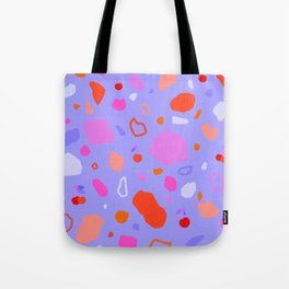 Sweet Terrazzo Cherries Tote Bag