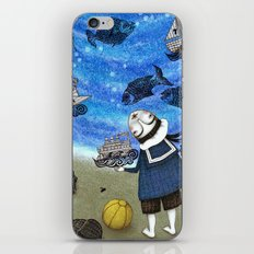 Day on the Beach iPhone Skin