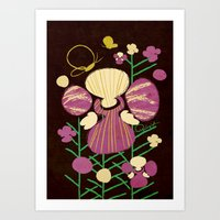 Floral Flower Artprint Art Print