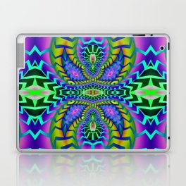 Tribal Rainbow Lotus Laptop & iPad Skin
