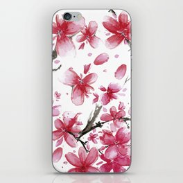 Cherry Blossoms #society6 #buyart iPhone Skin