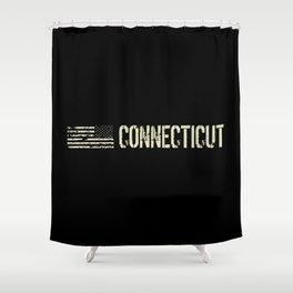 Black Flag: Connecticut Shower Curtain