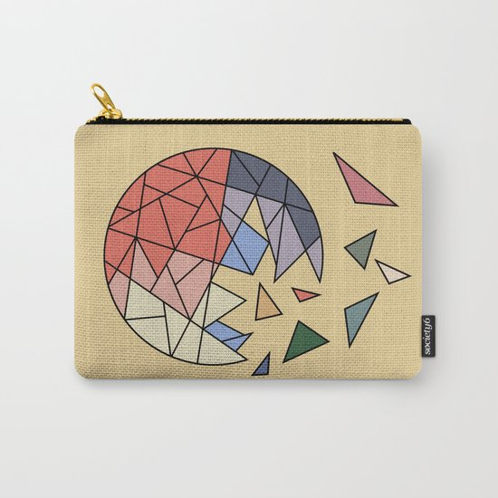 CONSTANT EVOLUTION (abstract geometric) Carry-All Pouch