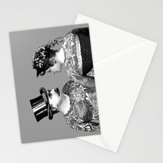 Tattooed Victorian Lovers Stationery Cards