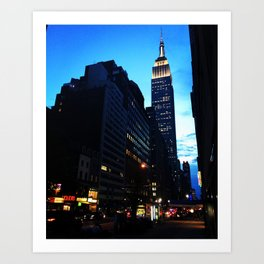 Welcome to NYC Art Print
