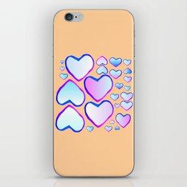 Coeur douceur iPhone Skin