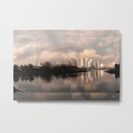 False Creek Candy Glow - Clean Edge #2 Metal Print