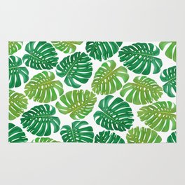Monstera Leaves Rug