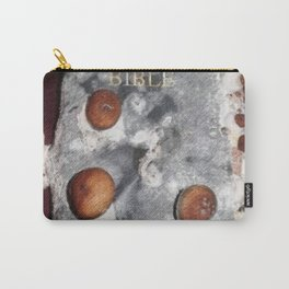 Holy bible with mushroom Carry-All Pouch