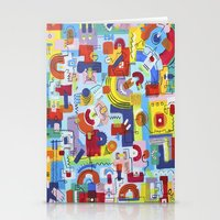 game Stationery Cards featuring Game by Tanja K