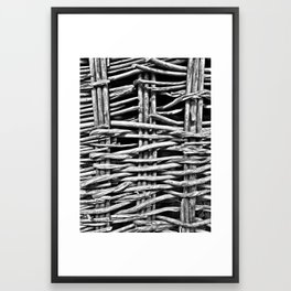 Madeira Basket Ride Framed Art Print