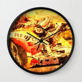 Le Mans 2015 motorcycle race repsol bike Wall Clock