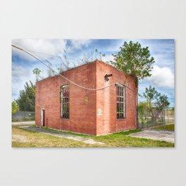 Abandoned Brick Building #6 Canvas Print
