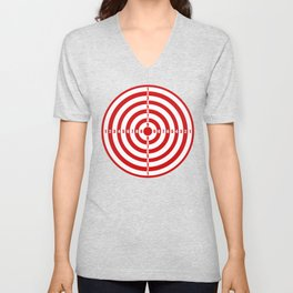 Old_Dart_Board Unisex V-Neck