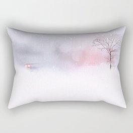 Eyes in the storm Rectangular Pillow