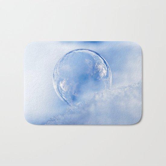 Blue Sky Bubble Bath Mat