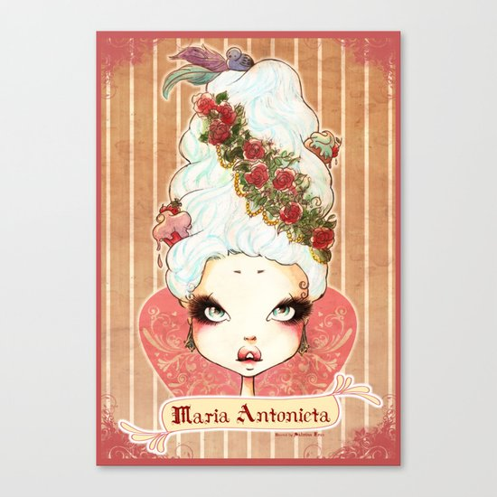 Sweet Maria Antonieta Canvas Print
