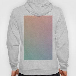 HOLOGRAPHIC - Minimal Plain Soft Mood Color Blend Prints Hoody