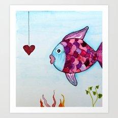 Lovely fish Art Print