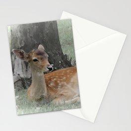 Forest deer Stationery Cards
