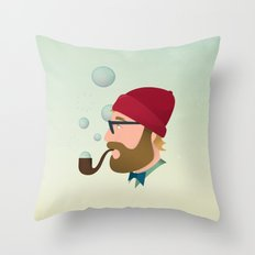 Soap bubble Hipster Throw Pillow
