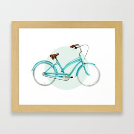 Cycling Framed Art Print