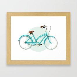 Cycling Framed Art Print