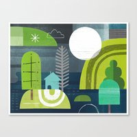norway Canvas Prints featuring Norway by Jessie Ford