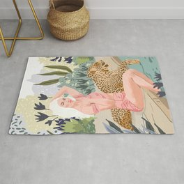 How to Train Your Leopard Rug