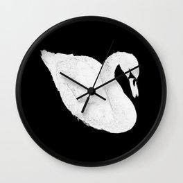 Kriegsbeginn /white logo Wall Clock
