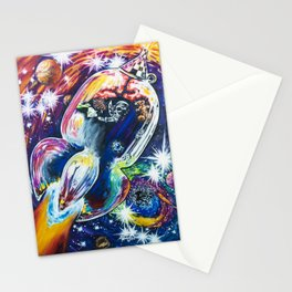 Squeezing Tinman 12 Stationery Cards