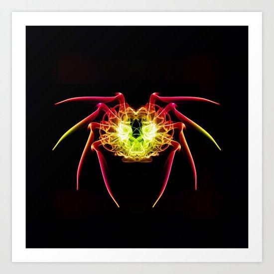 Spiderwoman Art Print