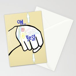 ASL Oh YES! Stationery Cards