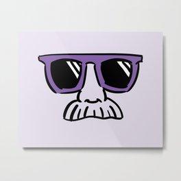 Too Cool (violet) Metal Print