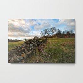 Cumbrian wall Metal Print