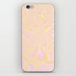 Orange Holographic iPhone Skin