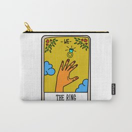 THE RING #Tarot Card Carry-All Pouch