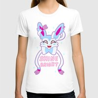 sylveon T-shirts featuring shiny sylveon by deerboywonder