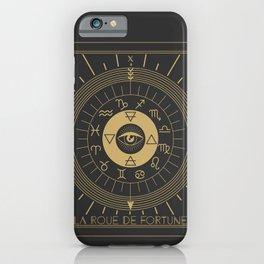 La Roue de Fortune or Wheel of Fortune iPhone Case